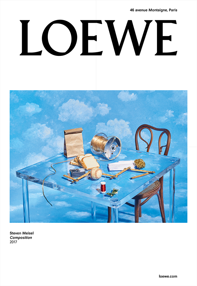 スティーブン・マイゼル(Steven Meisel)の新しい作品シリーズ『Compositions』からの1点