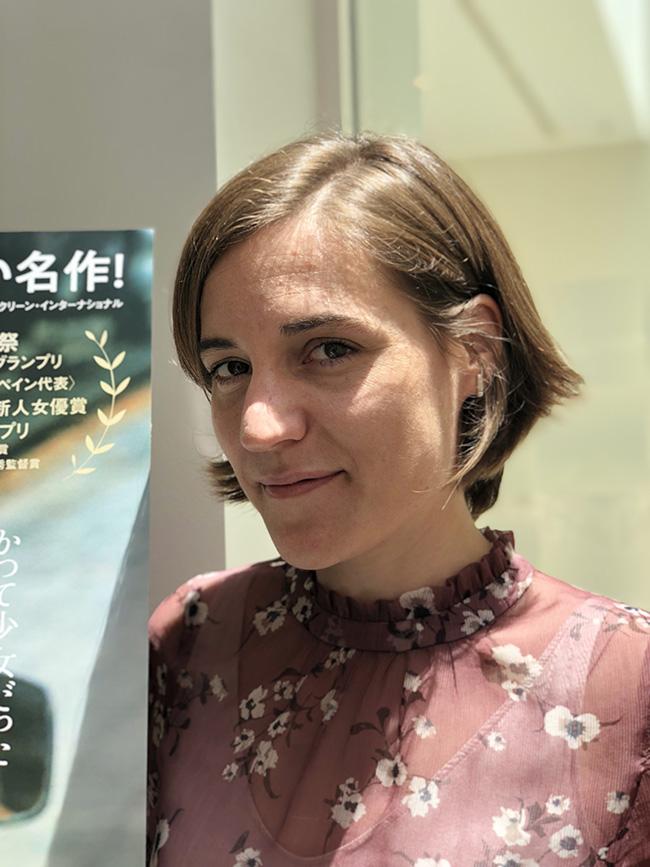 カルラ・シモン監督(スペイン大使館にて撮影)