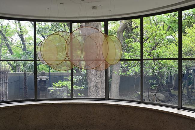 スタジオ アザー スペーシズ:オラファー エリアソン アンド セバスチャン ベーマン「水滴のパビリオン」模型  模型制作:2019 年